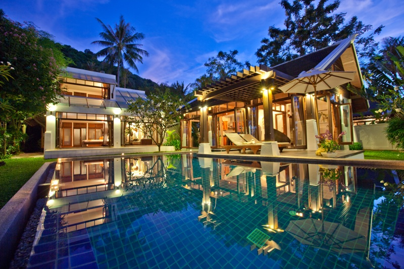 The Emerald Beach Villa 4 at Bang Po