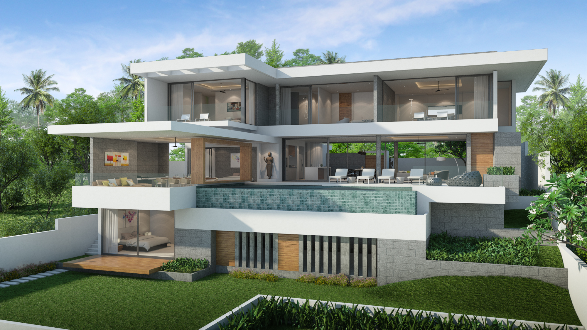 New Villa Development 4 at Maenam