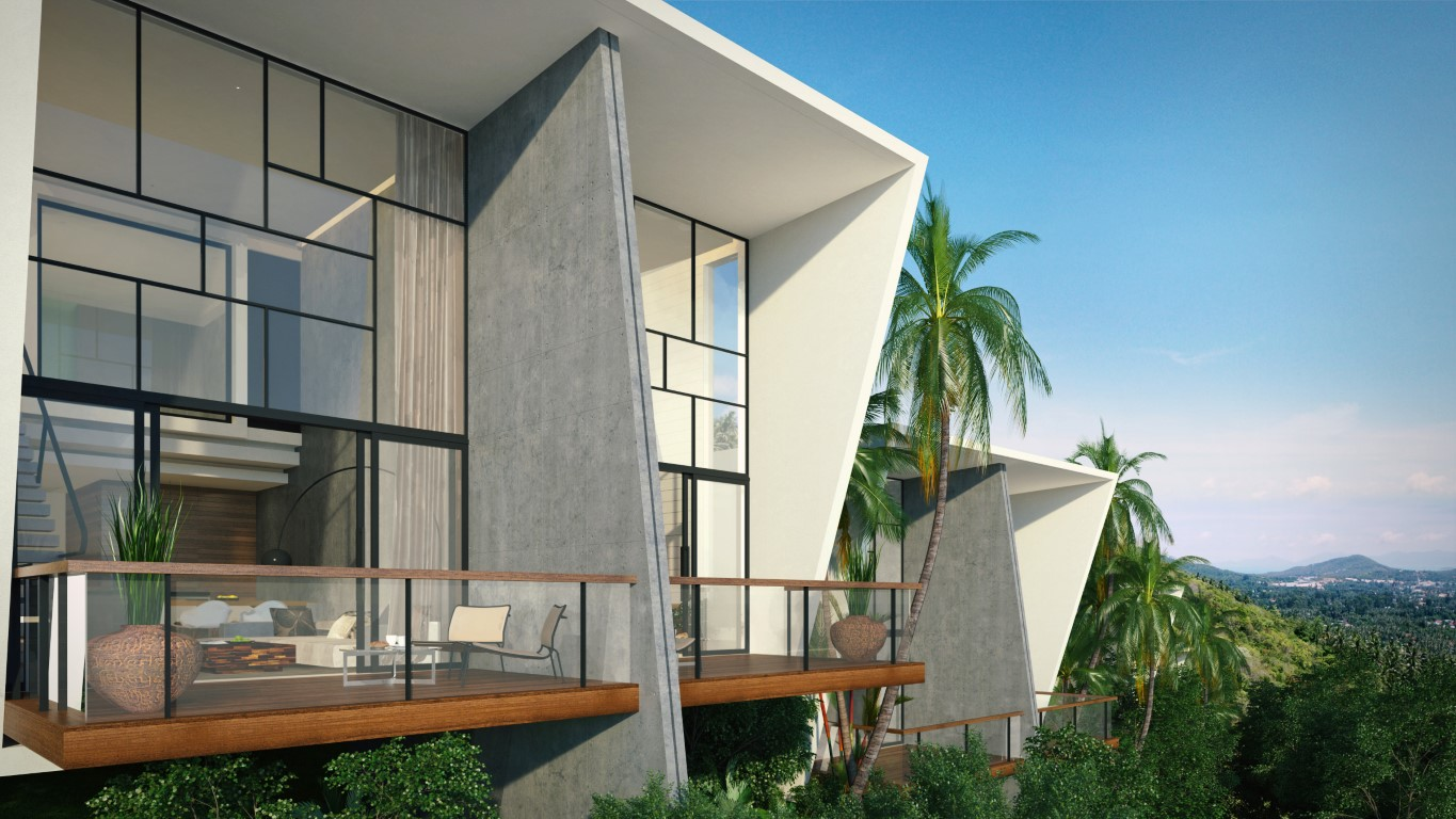 New Villa Development at Chaweng Noi