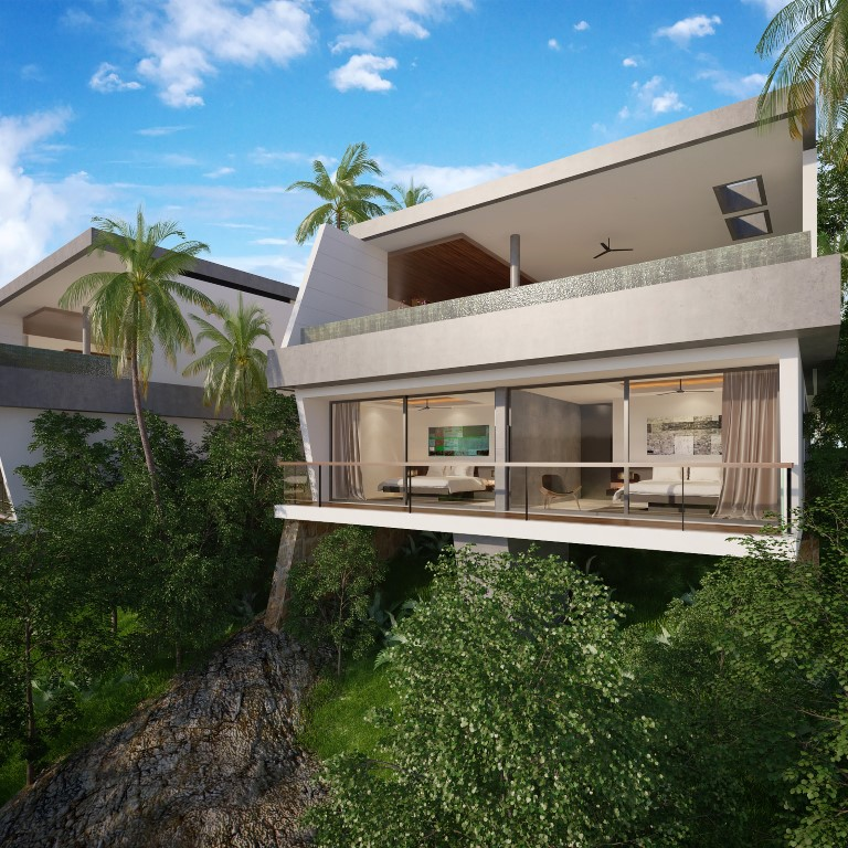 New Villa Development 4 at Chaweng Noi