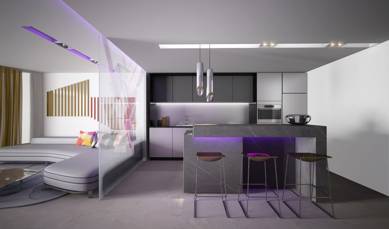 Oceana Residence - Deluxe Unit - Kitchen1 (Medium)